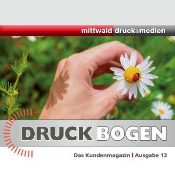 DRUCK BOGEN - Mittwald Medien