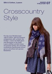 Crosscountry Style