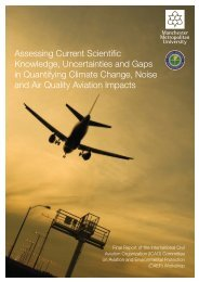 Assessing Current Scientific Knowledge, Uncertainties and ... - ICAO