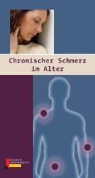Chronischer Schmerz im Alter - SIP