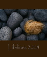 Lifelines 2008 - Dartmouth Medical School - Dartmouth College