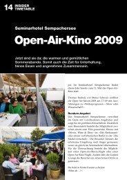 Open-Air-Kino 2009