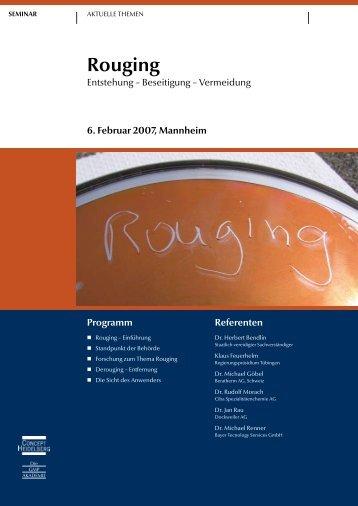 Rouging - GMP-Navigator