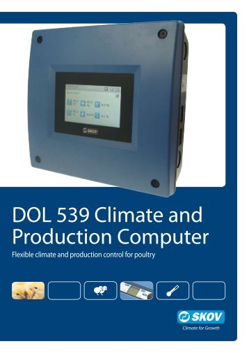 DOL 539 Climate and Production Computer - Skov A/S