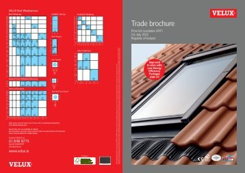 Trade Brochure GB - Velux