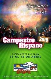 2010 Campestre Hispano - Folleto - Media