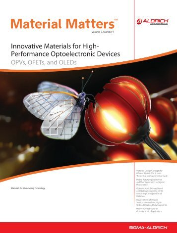 Innovative Materials for High-Performance ... - Sigma-Aldrich