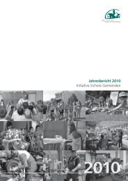 Dokumentation: Jahresbericht 2010 -  Initiative Sichere Gemeinden