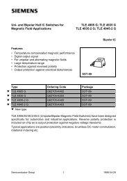 TLE 4935 G TLE 4935-2 G - Datasheet Catalog