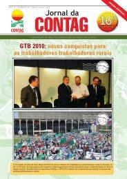 GTB 2010: novas conquistas para os trabalhadores ... - Contag