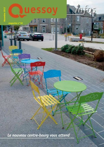 Le nouveau centre-bourg vous attend - Mairie de Quessoy