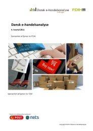 Download Dansk e-handelsanalyse 4. kvartal 2011 - FDIH