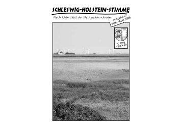 Schleswig-Holstein-Stimme