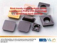 Nové trendy vývoje tenkých vrstev vytvořených PVD a CVD ... - ATeam