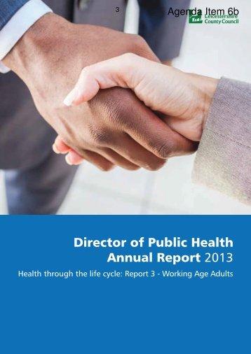 Director Public Health Annual Report