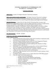 MCCR&R Network Job Description - Center for Schools and ...