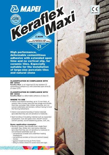 Keraflex Maxi - Mapei