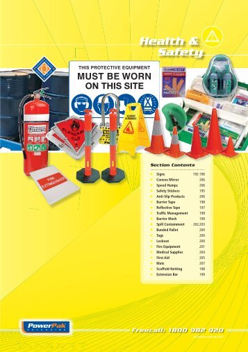 Health & Safety Section - PowerPak Packaging Supplies
