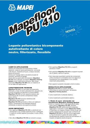 MAPEFLOOR PU 410 - Crocispa.it