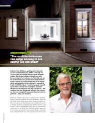 Architect Luc Dutilleux, gedelegeerd bestuurder van het ... - Dimension