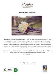 Wedding Package - McLaren Vale