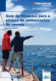 Guia de Produtos para a pintura de embarcações ... - Yachtpaint.com