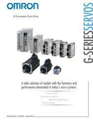 R88M-G/R88D-GT(-ML) Catalog - pidindustrial.com.br
