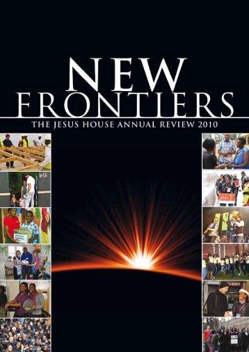 new frontiers - Jesus House