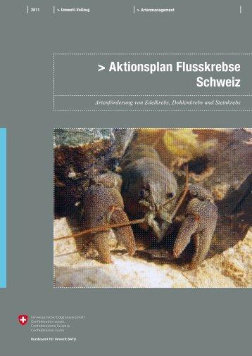 Aktionsplan Flusskrebse Schweiz - admin.ch