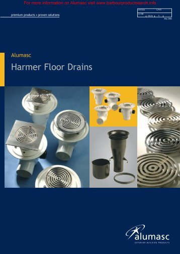 Harmer Floor Drains Brochure - Barbour Product Search