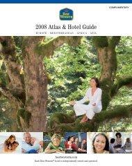 2008 Atlas & Hotel Guide - BEST WESTERN Hotel Schaper ...
