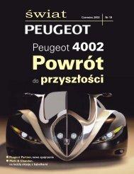 do przyszłości - Peugeot
