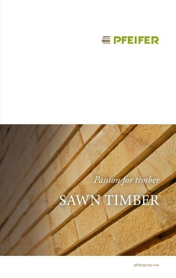 saWn timber - Pfeifer