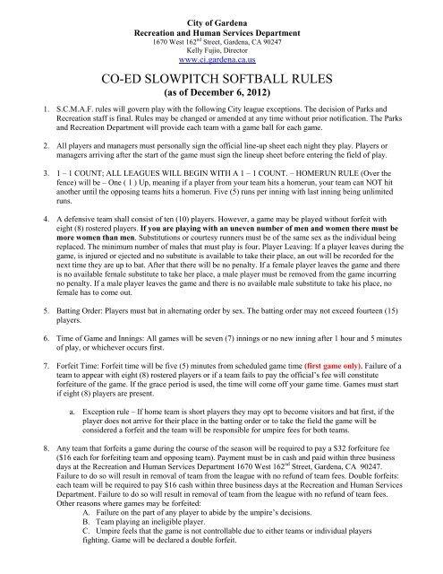 coed softball score sheet