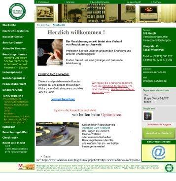 Herzlich willkommen ! - SIS GmbH