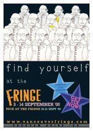 guide - Vancouver Fringe Festival