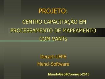 VANTS - MundoGEO#Connect LatinAmerica 2013