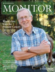 World-class Care for Prostate Cancer - Evergreen Hospital