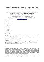 metodika hodnocení strategických plánů měst a obcí z pohledu ...