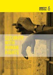 to proof - Amnesty International Schweiz