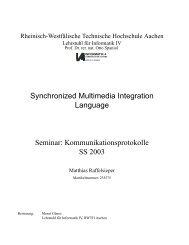 Synchronized Multimedia Integration Language (SMIL) - Informatik 4