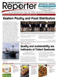 Eastern Poultry and Food Distributors - Urner Barry Publications, Inc.