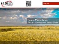 to view PDF - Saturn Minerals