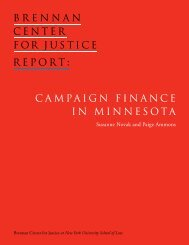 CAMPAIGN FINANCE IN MINNESOTA - PolicyArchive