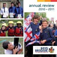 2010/2011 - The Boys' Brigade