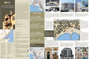 """"""" Sainte-Maxime, Architectures du XXème Siècle"""" ( PDF - 1.9 Mo)"""