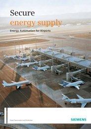 Secure energy supply - Siemens