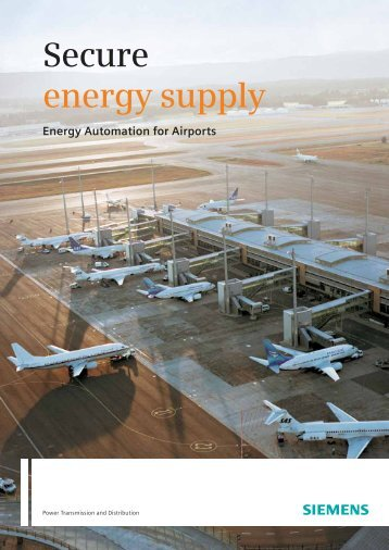 Secure energy supply - Siemens