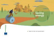 Saving Energy - Time to Step Up Our Efforts - Europe's Energy Portal