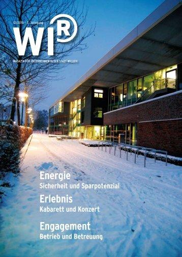 Energie Erlebnis Engagement - WIR Willich